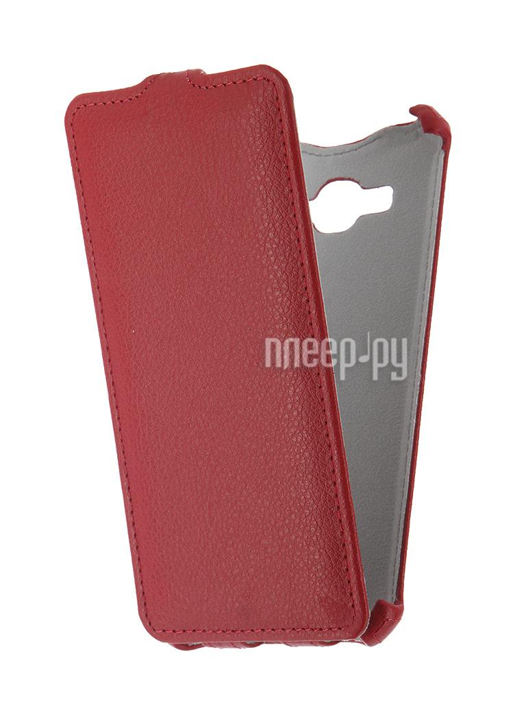 Аксессуар Чехол Samsung SM-G530H Galaxy Grand Prime Zibelino Classico Red