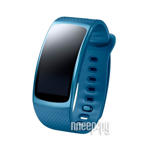 Умный браслет Samsung Gear Fit 2 SM-R3600 SM-R3600ZBASER Blue