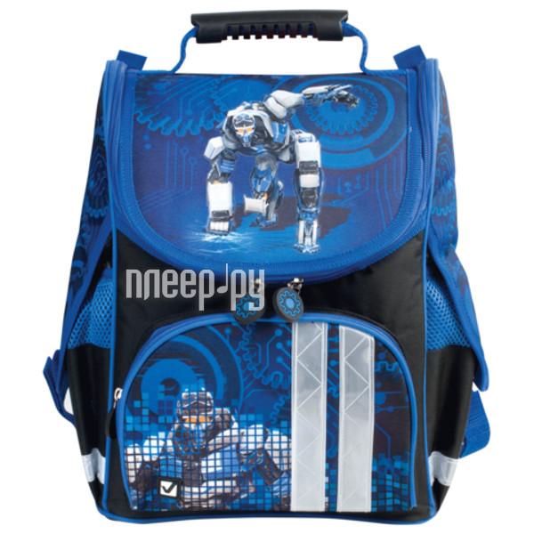 Рюкзак BRAUBERG Black-Blue 225338