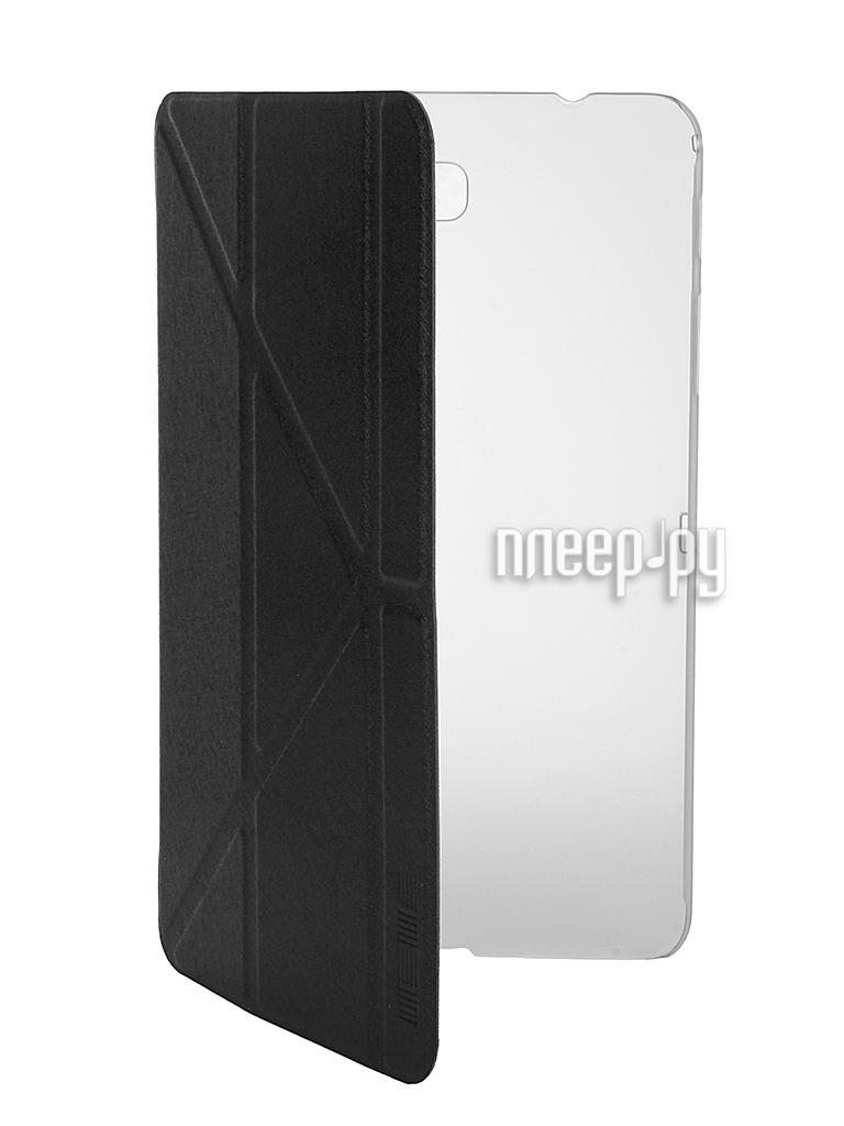 Аксессуар Чехол Samsung Galaxy Tab 4 8.0 InterStep Leather Black 35498