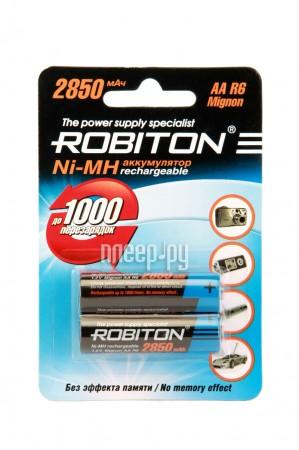 Аккумулятор AA - Robiton 2850 mAh Ni-MH (2 штуки)