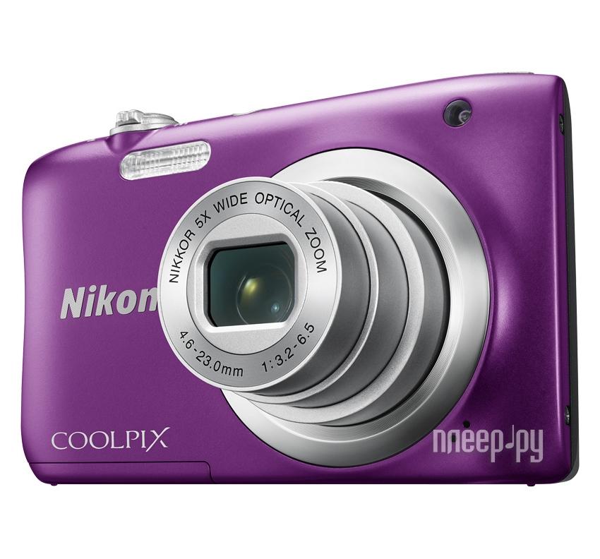 Фотоаппарат Nikon Coolpix A100 Purple