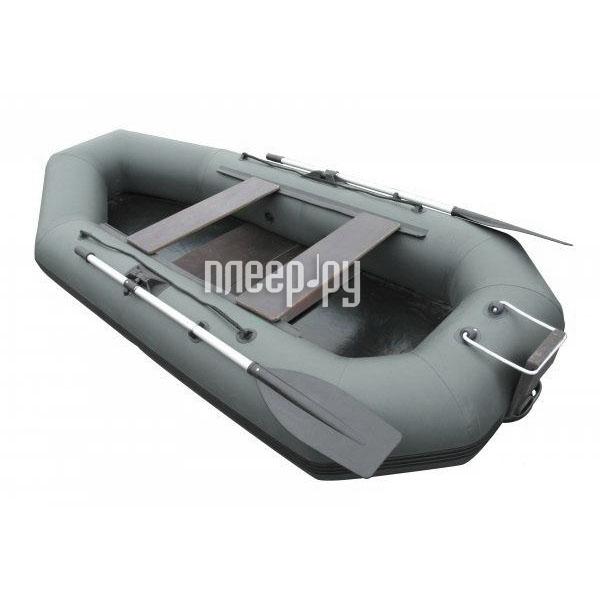 Надувная лодка Лидер Компакт-280 Grey крепление под транец