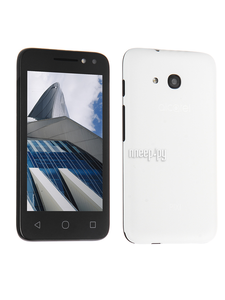 Сотовый телефон Alcatel OneTouch 4034D PIXI 4 (4) Pure White