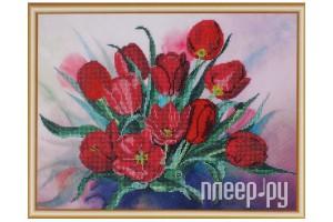 Купить Набор для творчества Hobby&Pro Тюльпаны вышивания бисером БН-3099