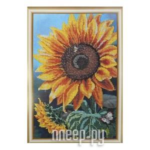 Купить Набор для творчества Hobby&Pro Цветок солнца для вышивания бисером БН-3122