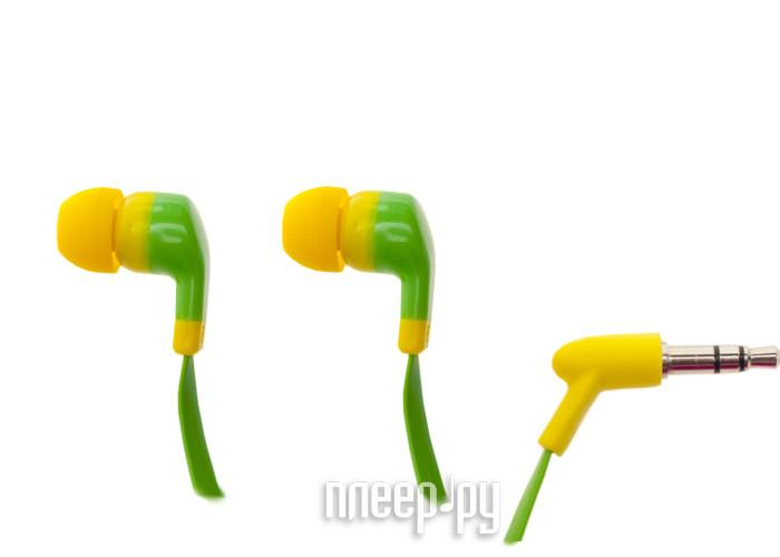 Наушники Partner Positive Green-Yellow ПР032732