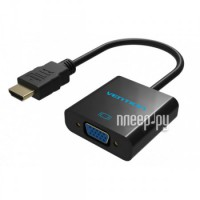 Аксессуар Vention HDMI - VGA Black VAA-V05