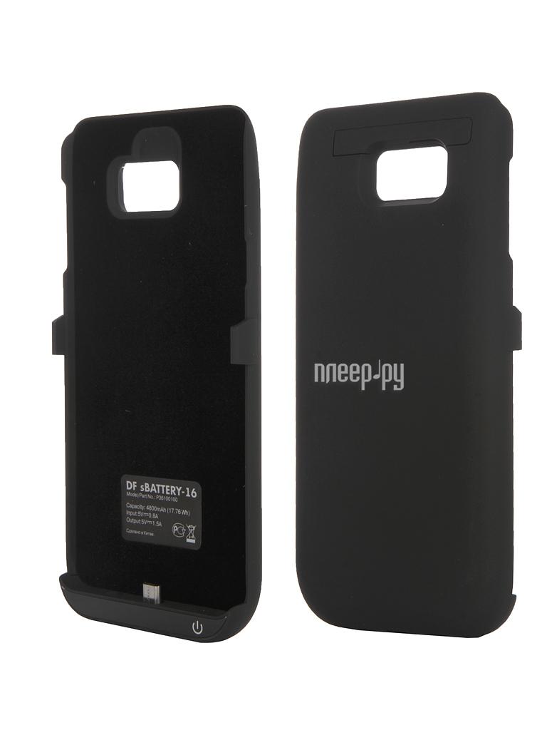 Аксессуар Чехол-аккумулятор Samsung Galaxy Note 5 DF SBattery-16 Black купить