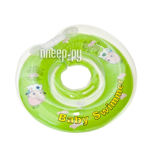 Надувной круг Baby Swimmer BS02C-B