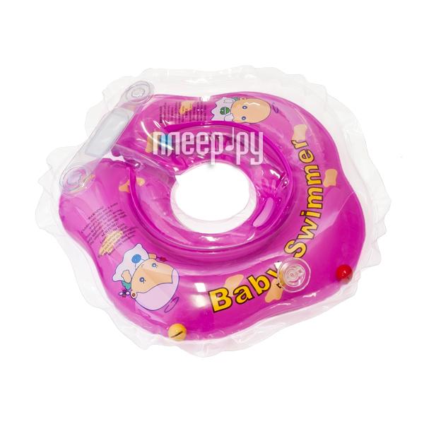 Надувной круг Baby Swimmer BS02F-B