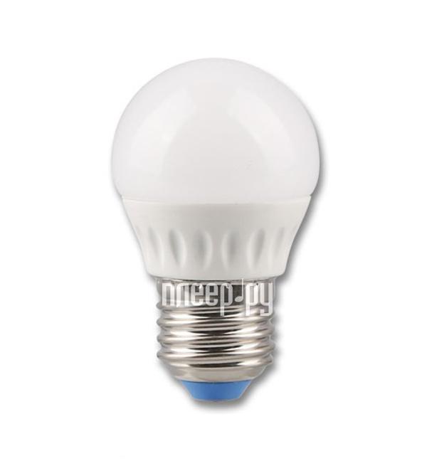 Лампочка Rev LED G45 E27 5W 2700K теплый свет 32262 7