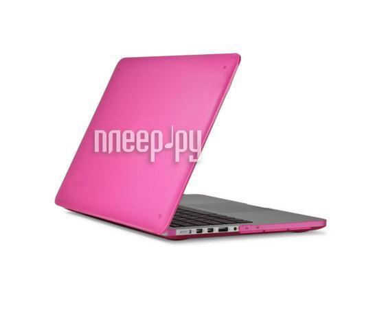 Аксессуар Чехол MacBook Pro Retina 15 Speck SeeThru Pink SPK-A2731