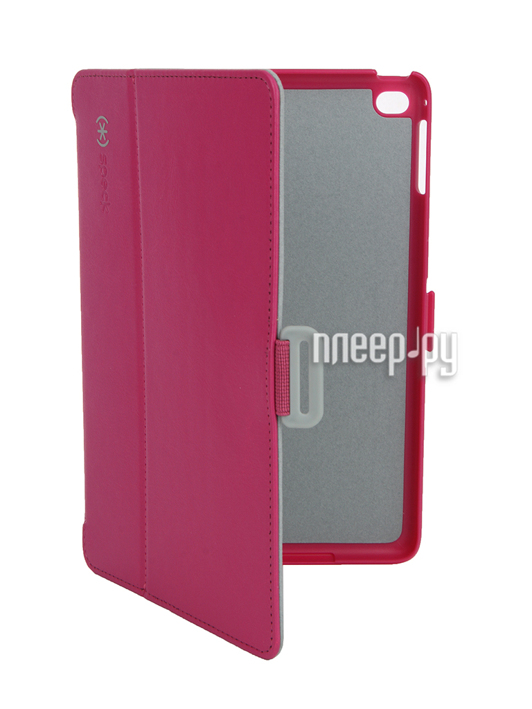Аксессуар Чехол Speck StyleFolio для iPad Mini 4 Fuchsia-Grey 71805-B920