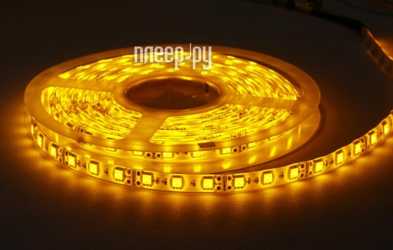 Светодиодная лента Camelion SL-3528-60-C07 5m IP20 Yellow