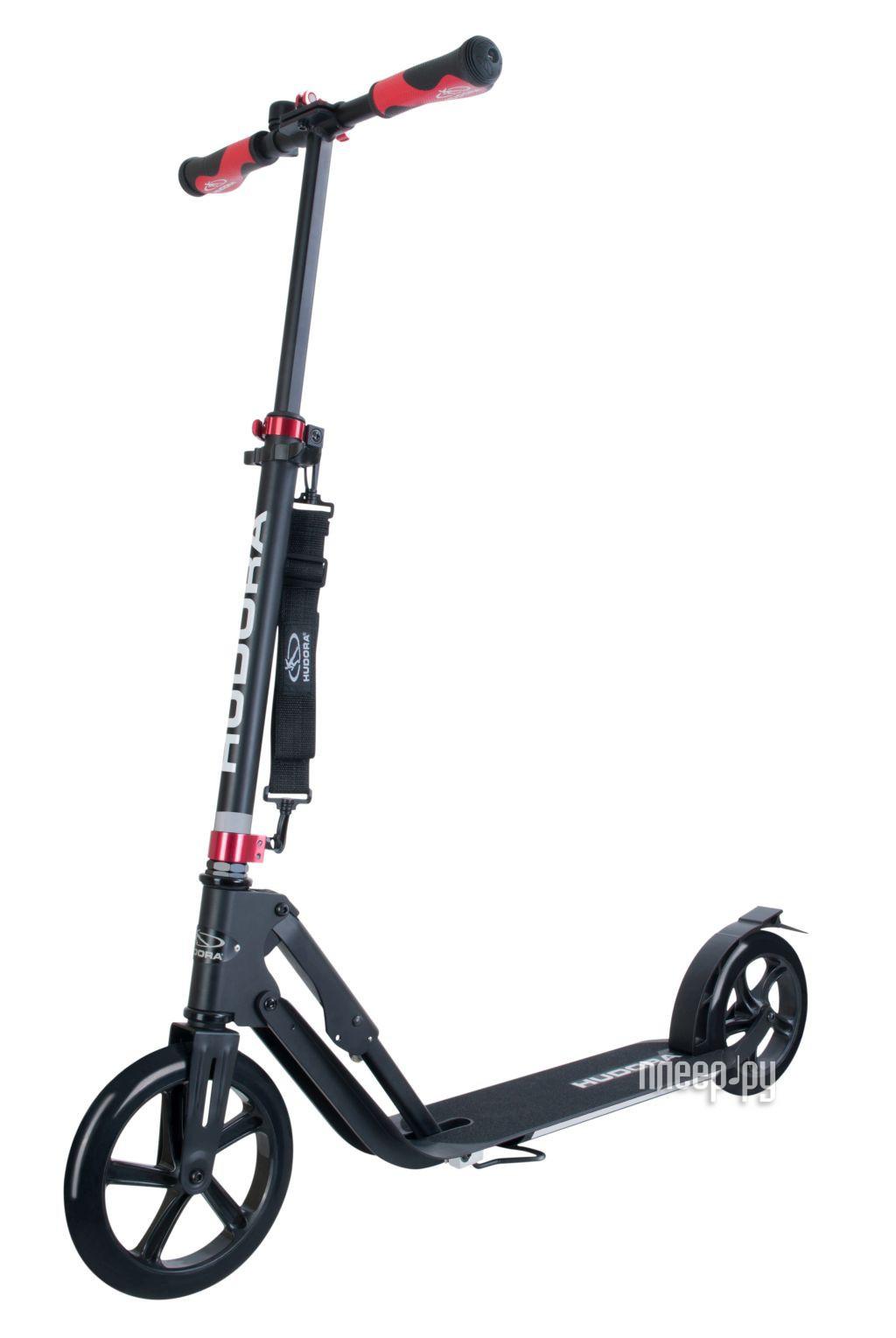 Самокат Hudora Big Wheel Style 230 Black 14235