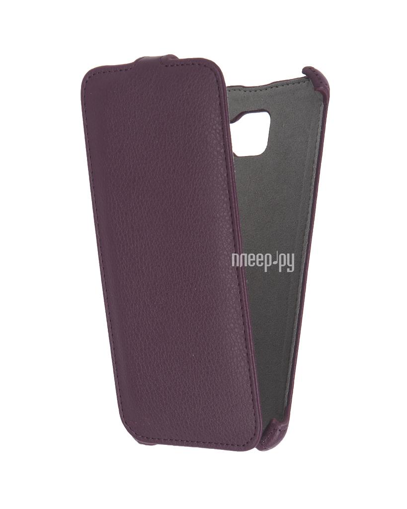 Аксессуар Чехол Samsung Galaxy A7 2016 Activ Flip Case Leather Violet