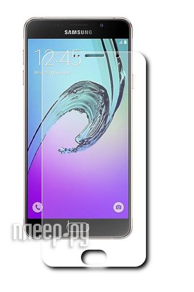 Аксессуар Защитное стекло Samsung Galaxy A7 2016 InterStep SAMA71FSB Black 45460