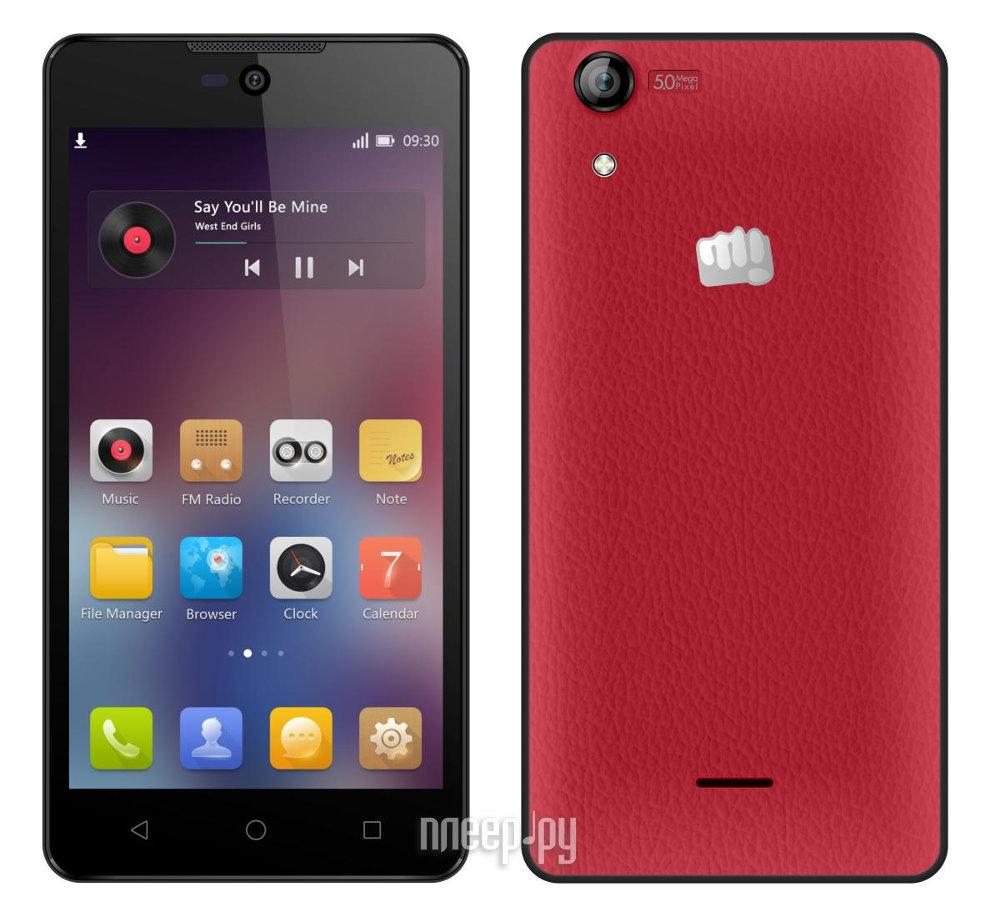 Сотовый телефон Micromax Q340 Red