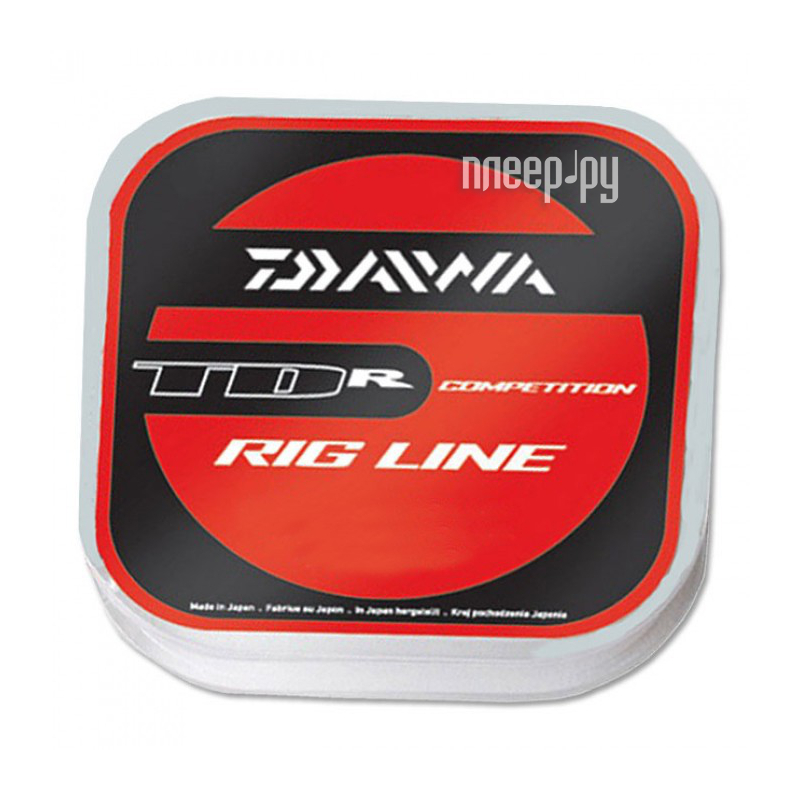 Леска Daiwa TDR Rig Line 0.12mm 100m 1 штука