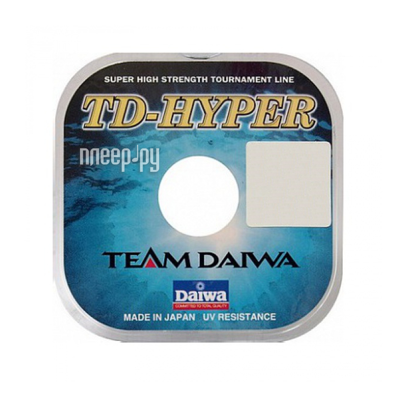 Леска Daiwa TD Hyper Tournament 0.14mm 100m 1 штука