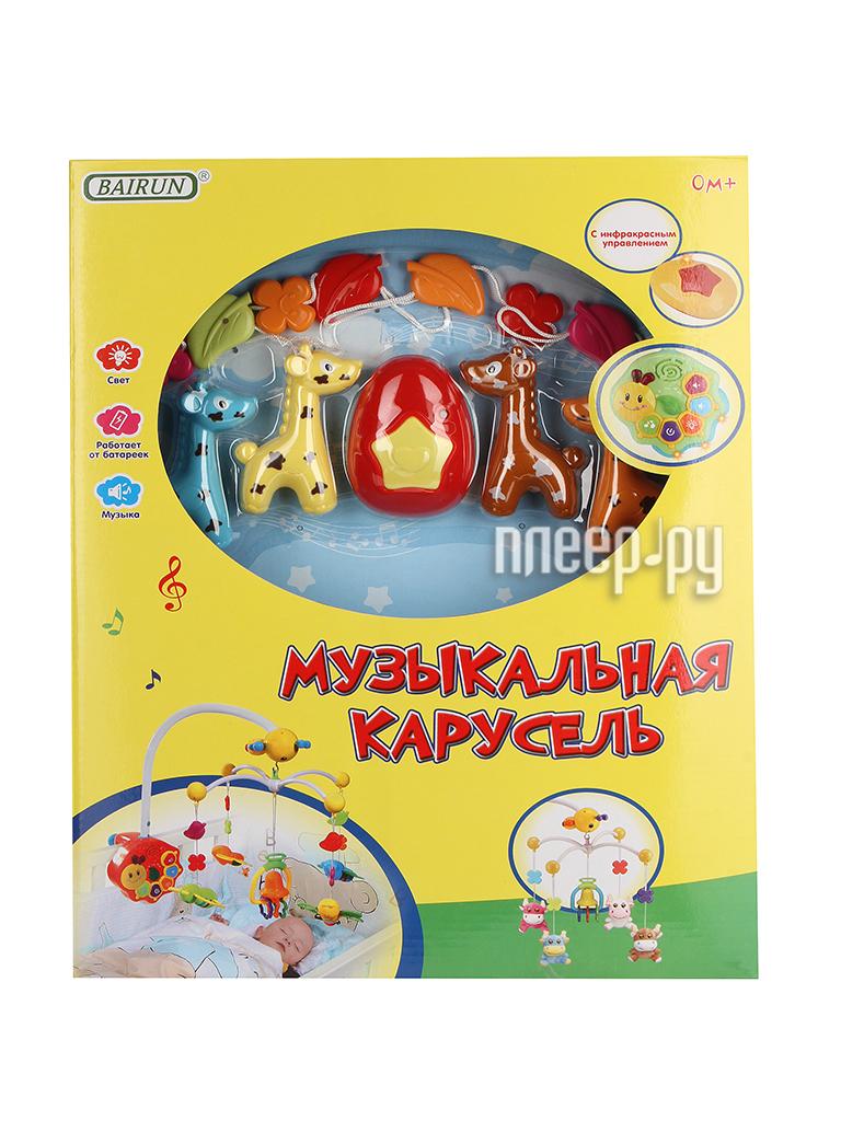 Музыкальный мобиль Bairun Музыкальная карусель ZY261506 / FS-34664N / Y360898