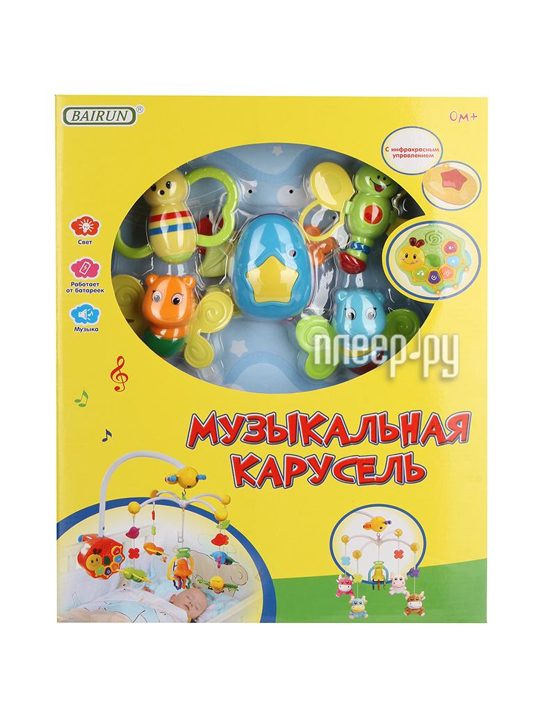 Музыкальный мобиль Bairun Музыкальная карусель ZY089629 / FS-34463N / Y360688