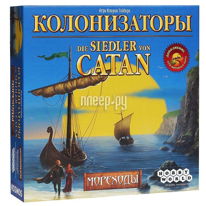 Настольная игра Hobby World Колонизаторы. Мореходы 1133 за 1689