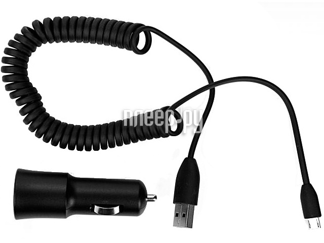Аксессуар Зарядное устройство в авто microUSB HTC CC-C200  Pleer.ru  1217.000