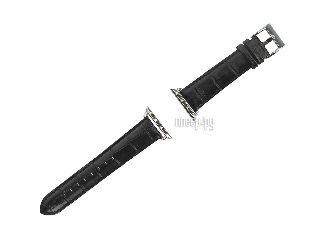 Аксессуар Браслет APPLE Watch Remax RM 381 Black Leather