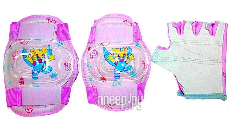 Комплект защиты Tech Team Butterfly S TE-112S Pink