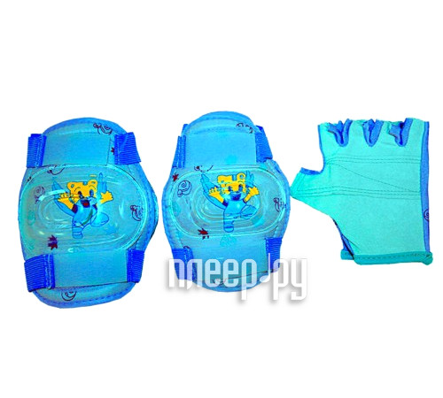 Комплект защиты Tech Team Butterfly M TE-112M Light Blue