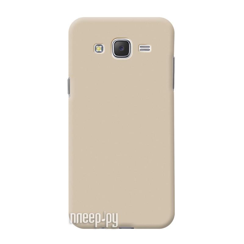 Аксессуар Чехол Samsung Galaxy J510 Deppa Air Case Gold 83252
