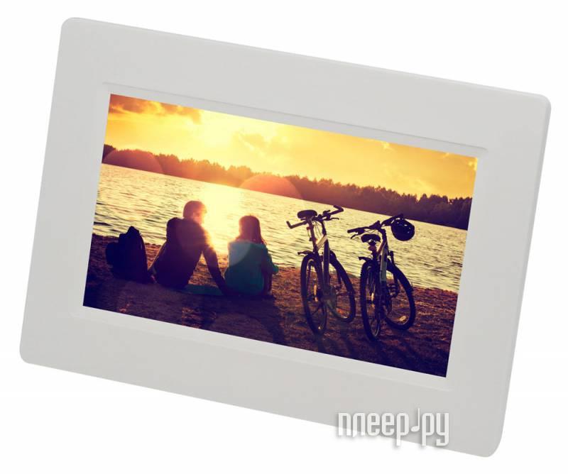 Цифровая фоторамка Digma PF-733 White