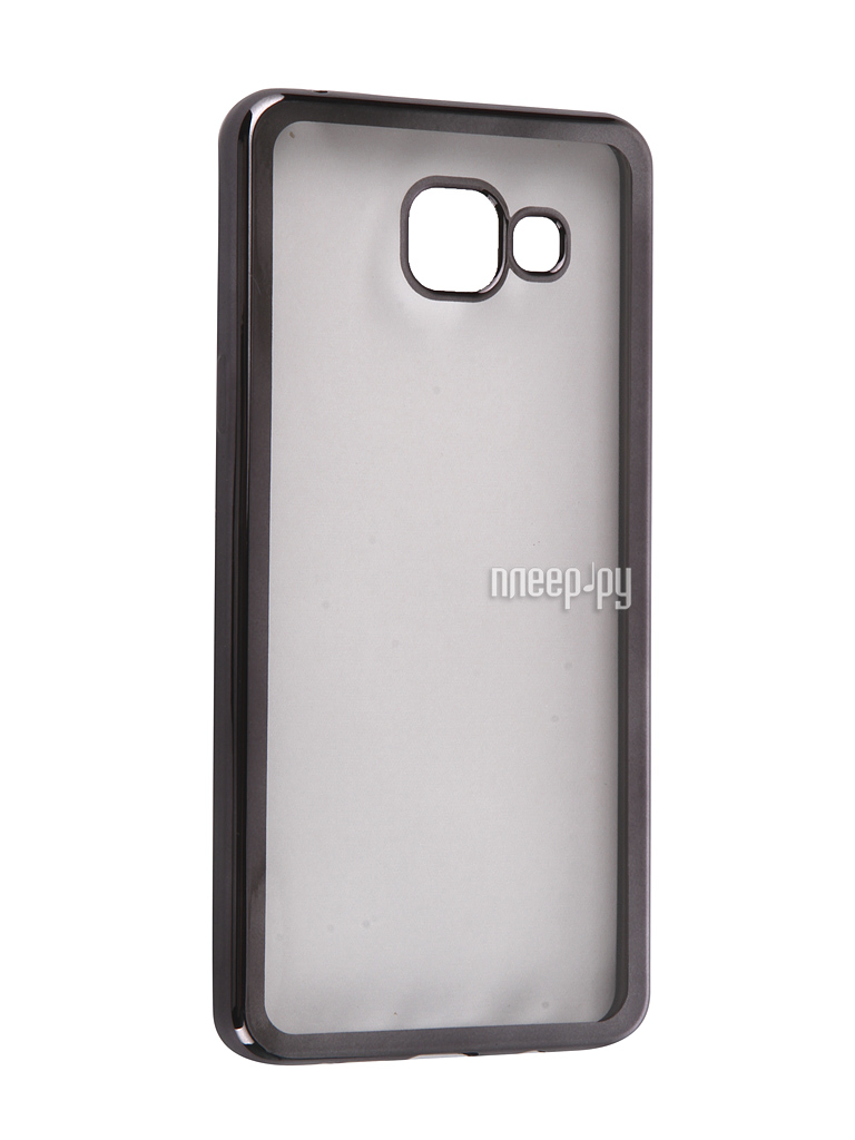 Аксессуар Чехол Samsung Galaxy A5 2016 DF sCase-23 Black