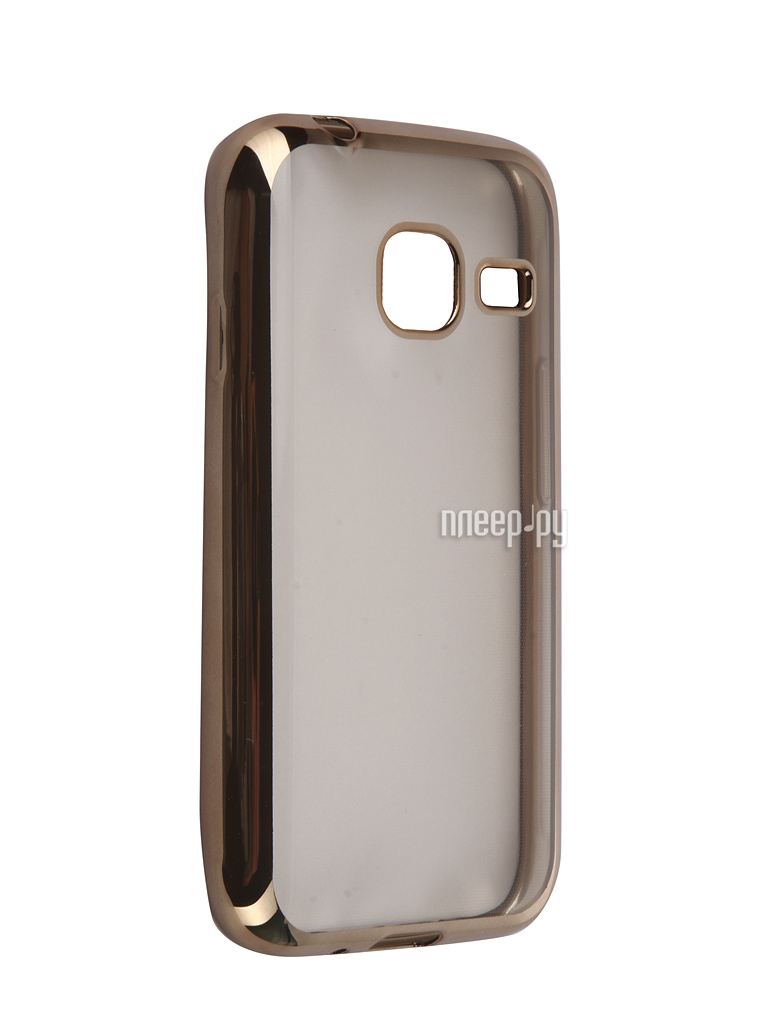 Аксессуар Чехол Samsung Galaxy J1 mini 2016 DF sCase-26 Gold