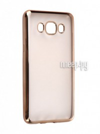 Аксессуар Чехол Samsung Galaxy J7 2016 DF sCase-30 Gold