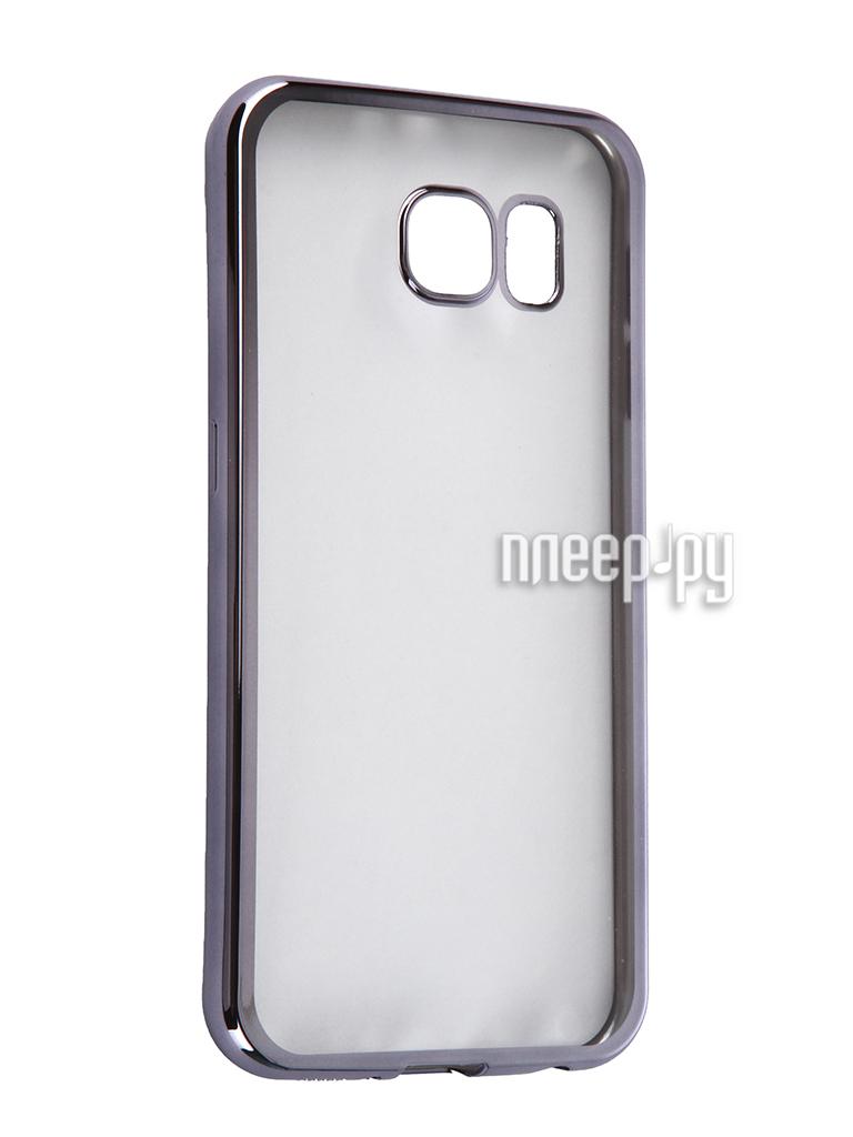 Аксессуар Чехол Samsung G920F Galaxy S6 DF sCase-31 Space Grey