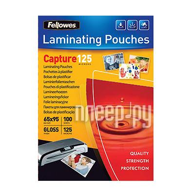 Пленка для ламинатора Fellowes 125мкм 100шт глянец FS-53067