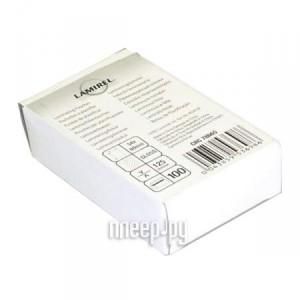 Купить Пленка для ламинатора Fellowes 125мкм 54х86мм 100шт глянец LA-7866501