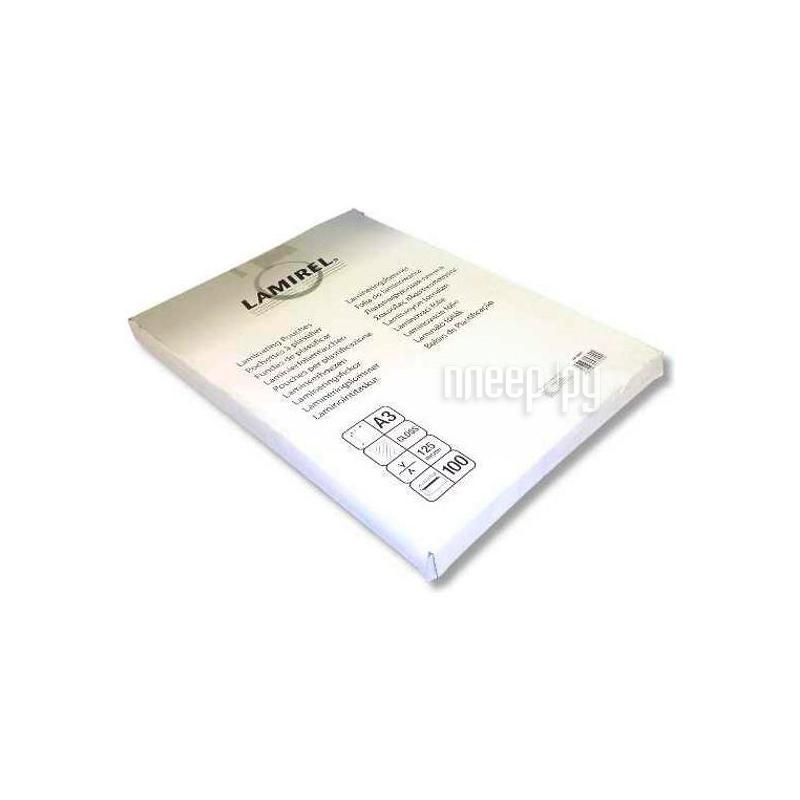Пленка для ламинатора Lamirel 75мкм 100шт LA-78656