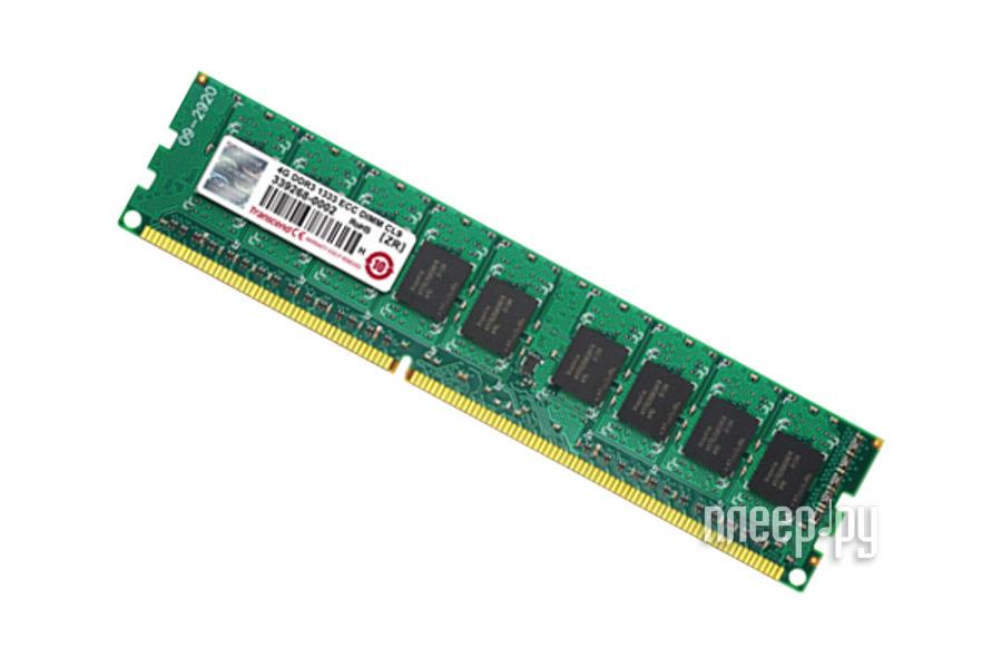 Модуль памяти Transcend DDR3 DIMM 1333MHz PC3-10600 CL9 - 2Gb TS256MLK72V3U