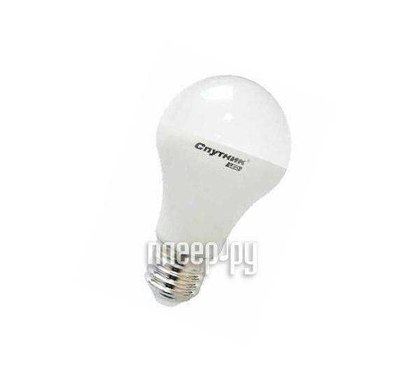 Лампочка Спутник LED A60 10W 3000K E27 16-A60-10W-3000-E27
