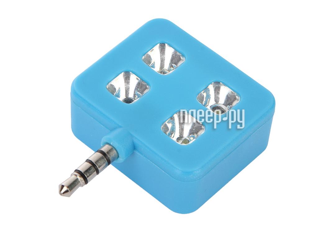 Гаджет Мини-селфи вспышка Activ Flash Light 4LED Blue 58996
