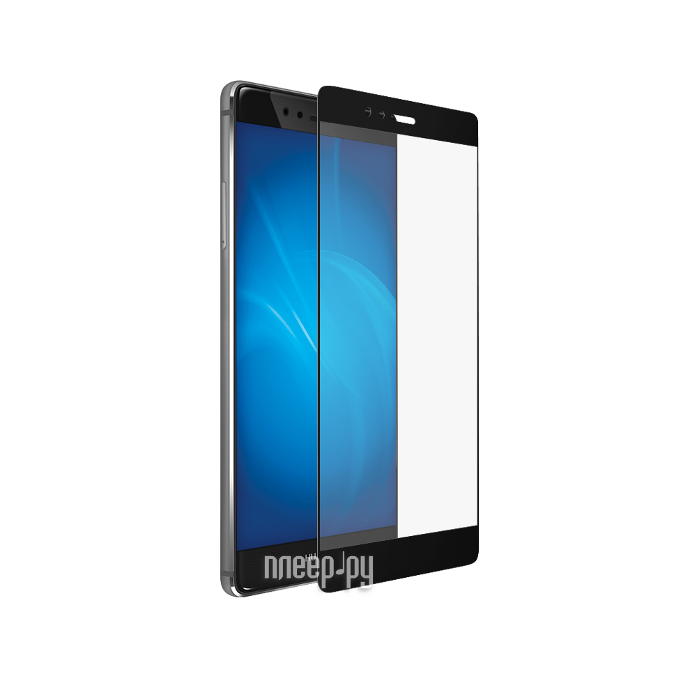 Аксессуар Закаленное стекло Huawei P9 DF Fullscreen hwColor-01 Black