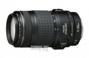 Объектив Canon EF 70-300 mm F/4-5.6 IS USM  - купить со скидкой