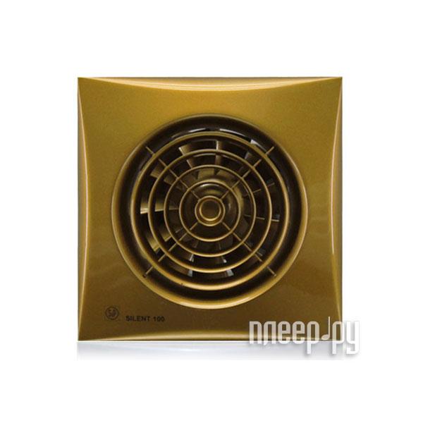 Вытяжной вентилятор Soler & Palau SILENT-100 CZ Gold