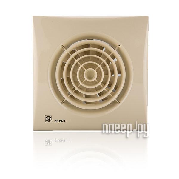 Вытяжной вентилятор Soler & Palau SILENT-100 CZ Ivory