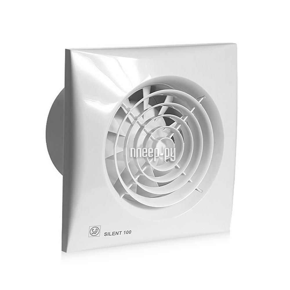 Вытяжной вентилятор Soler & Palau SILENT-100 CMZ White