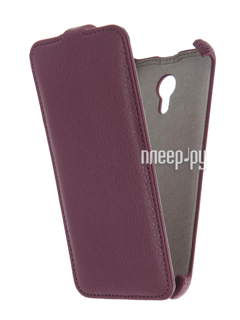 Аксессуар Чехол Activ T Leather для APPLE iPhone 7 Brown 71560